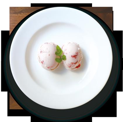 いちごアイスクリーム詳細写真