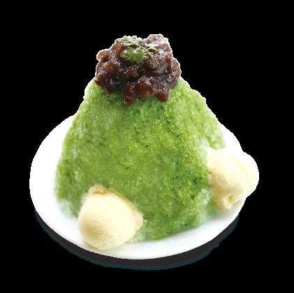 かき氷-抹茶-詳細写真