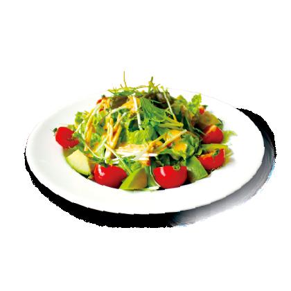 アボカドと水菜のコブサラダ詳細写真