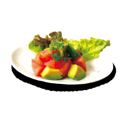アボカドとトマトのサラダ詳細写真