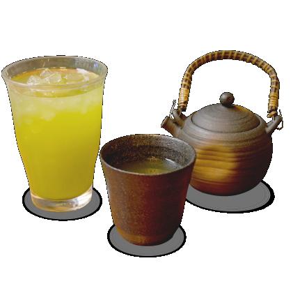 日本茶(ホット/アイス)詳細写真