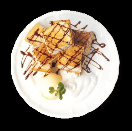 チョコレートハニートースト詳細写真