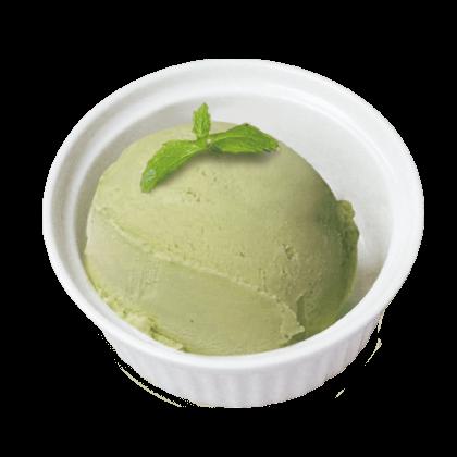 抹茶アイスクリーム詳細写真