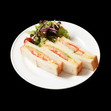 ハムとタマゴのサンドイッチ詳細写真