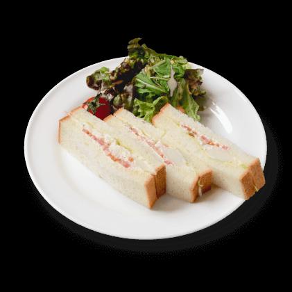 ポテトサラダのサンドイッチ詳細写真