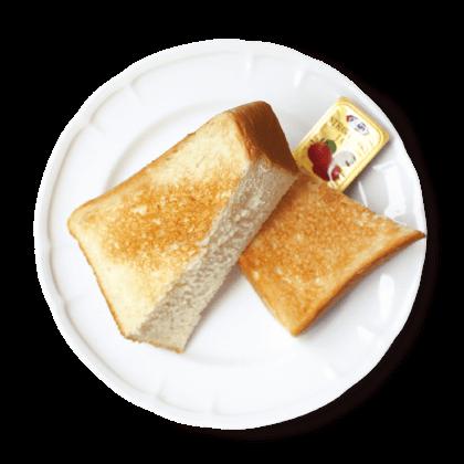 トースト<br>【サイドメニュー】詳細写真