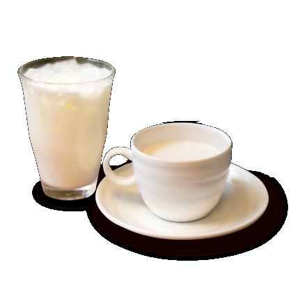 ミルク(ホット/アイス)詳細写真