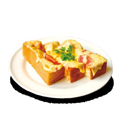 生ハムとトマトのピザトースト詳細写真