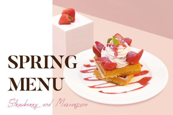 noa cafe: 春の季節限定メニューが始まります!詳細写真
